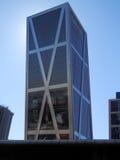 Επιχειρησιακοί ουρανοξύστες στη Μαδρίτη Στοκ φωτογραφίες με δικαίωμα ελεύθερης χρήσης