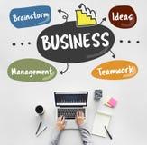 Επιχειρησιακού καταιγισμού ιδεών Management Ideas Company έννοια Στοκ εικόνες με δικαίωμα ελεύθερης χρήσης