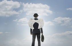 Επιχειρησιακός άγγελος Στοκ Εικόνες