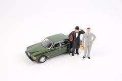 Επιχειρησιακός αριθμός και αυτοκίνητο παιχνιδιών Στοκ Εικόνα