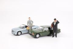 Επιχειρησιακός αριθμός και αυτοκίνητο παιχνιδιών Στοκ φωτογραφίες με δικαίωμα ελεύθερης χρήσης
