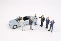 Επιχειρησιακός αριθμός και αυτοκίνητο παιχνιδιών Στοκ εικόνα με δικαίωμα ελεύθερης χρήσης