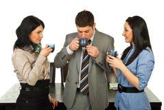επιχειρησιακός καφές σπασιμάτων που έχει τους ανθρώπους Στοκ Εικόνα