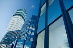 επιχειρησιακός ουρανο& Στοκ φωτογραφία με δικαίωμα ελεύθερης χρήσης
