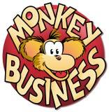 επιχειρησιακός πίθηκος Στοκ εικόνα με δικαίωμα ελεύθερης χρήσης