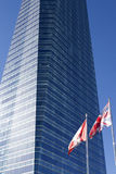Επιχειρησιακός πύργος στη Μαδρίτη Στοκ φωτογραφία με δικαίωμα ελεύθερης χρήσης