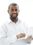 Επιχειρησιακό άτομο αφροαμερικάνων Στοκ εικόνα με δικαίωμα ελεύθερης χρήσης