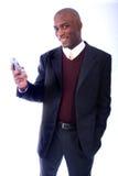 επιχειρησιακό άτομο αφροαμερικάνων Στοκ φωτογραφίες με δικαίωμα ελεύθερης χρήσης