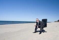 επιχειρησιακό άτομο παρα Στοκ Φωτογραφία