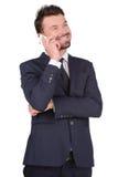 Επιχειρησιακό άτομο συγκινήσεων Στοκ φωτογραφία με δικαίωμα ελεύθερης χρήσης