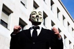 Επιχειρησιακό άτομο Anonymus Στοκ Εικόνες