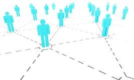 Επιχειρησιακό δίκτυο στοκ εικόνα με δικαίωμα ελεύθερης χρήσης