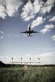 Επιχειρησιακό αεριωθούμενο αεροπλάνο Στοκ Εικόνα