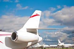 Επιχειρησιακό αεριωθούμενο αεροπλάνο Στοκ φωτογραφία με δικαίωμα ελεύθερης χρήσης