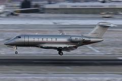 Επιχειρησιακό αεριωθούμενο αεροπλάνο Στοκ Φωτογραφία