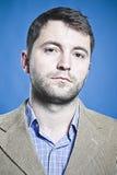 Επιχειρησιακό βλέμμα ενός επιχειρησιακού ατόμου Στοκ Εικόνες