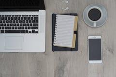Επιχειρησιακό γραφείο - επίπεδο γραφείο σχεδιαγράμματος Στοκ φωτογραφίες με δικαίωμα ελεύθερης χρήσης
