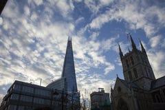 Επιχειρησιακό γραφείο ουρανοξυστών, εταιρικό κτήριο στην πόλη του Λονδίνου, Αγγλία, UK Στοκ Εικόνες