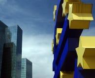επιχειρησιακό ευρώ στοκ εικόνα