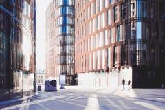 Επιχειρησιακό κέντρο, σύγχρονο επιχειρησιακό κτήριο Στοκ Εικόνες