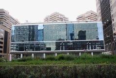 Επιχειρησιακό κέντρο της Νάπολης στοκ φωτογραφία με δικαίωμα ελεύθερης χρήσης