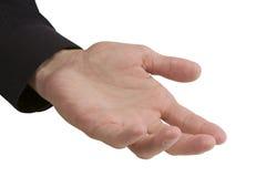επιχειρησιακό κενό χέρι Στοκ Φωτογραφίες