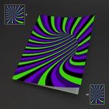 A4 επιχειρησιακό κενό abstract background striped τέχνη οπτική Στοκ φωτογραφία με δικαίωμα ελεύθερης χρήσης