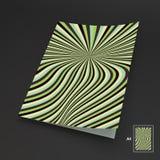 A4 επιχειρησιακό κενό abstract background striped Στοκ Εικόνες