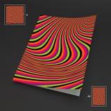 A4 επιχειρησιακό κενό abstract background striped ελεύθερη απεικόνιση δικαιώματος