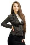 επιχειρησιακό κορίτσι ι&sigm Στοκ φωτογραφία με δικαίωμα ελεύθερης χρήσης