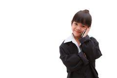 επιχειρησιακό κορίτσι λίγα στοκ εικόνες