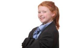 Επιχειρησιακό κορίτσι στοκ εικόνα