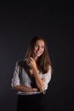 Επιχειρησιακό κορίτσι Στοκ Εικόνες