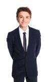 επιχειρησιακό κοστούμι αγοριών εφηβικό Στοκ Εικόνες