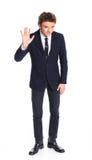 επιχειρησιακό κοστούμι αγοριών εφηβικό Στοκ εικόνες με δικαίωμα ελεύθερης χρήσης