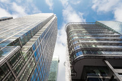 Επιχειρησιακό κτήριο στο Canary Wharf. Στοκ εικόνες με δικαίωμα ελεύθερης χρήσης