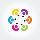 Επιχειρησιακό λογότυπο Στοκ εικόνα με δικαίωμα ελεύθερης χρήσης