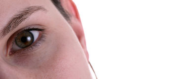 επιχειρησιακό μάτι Στοκ φωτογραφία με δικαίωμα ελεύθερης χρήσης