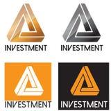 Επιχειρησιακό λογότυπο επένδυσης Στοκ Εικόνα