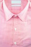 Επιχειρησιακό πουκάμισο με ένα σχέδιο γραμμών - επίσημο πουκάμισο Στοκ εικόνες με δικαίωμα ελεύθερης χρήσης