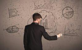 Επιχειρησιακό πρόγραμμα για έναν τοίχο Στοκ εικόνα με δικαίωμα ελεύθερης χρήσης