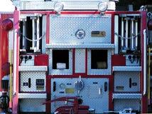 Επιχειρησιακό τέλος του πυροσβεστικού οχήματος Στοκ φωτογραφίες με δικαίωμα ελεύθερης χρήσης