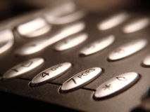 επιχειρησιακό τηλέφωνο Στοκ εικόνα με δικαίωμα ελεύθερης χρήσης