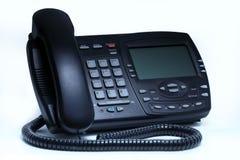 επιχειρησιακό τηλέφωνο voip στοκ εικόνα