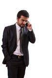 Επιχειρησιακό τηλεφώνημα Στοκ φωτογραφίες με δικαίωμα ελεύθερης χρήσης