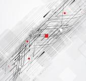 Επιχειρησιακό υπόβαθρο έννοιας τεχνολογίας υπολογιστών απείρου σπειροειδές Στοκ Φωτογραφία