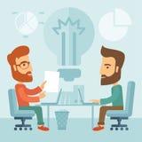 Επιχειρησιακό 'brainstorming' Στοκ εικόνα με δικαίωμα ελεύθερης χρήσης