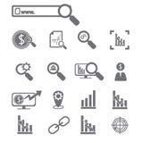 επιχειρησιακό cs2 eps AI τα εικονίδια περιλαμβάνουν Στοκ εικόνα με δικαίωμα ελεύθερης χρήσης