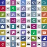 επιχειρησιακό cs2 eps AI τα εικονίδια περιλαμβάνουν Στοκ εικόνες με δικαίωμα ελεύθερης χρήσης