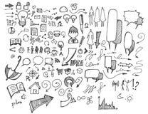 Επιχειρησιακό doodles σκίτσο eps10 Στοκ εικόνα με δικαίωμα ελεύθερης χρήσης